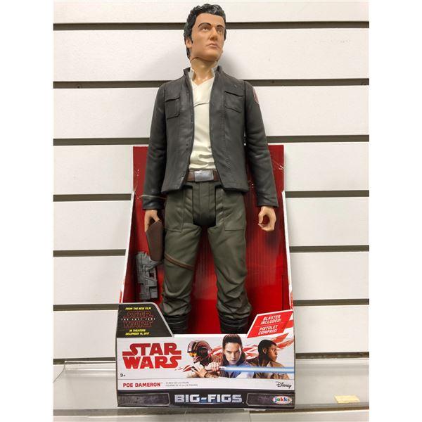 Disney Star Wars The Last Jedi Poe Dameron 18in action figure (Jakks Pacific new in box)