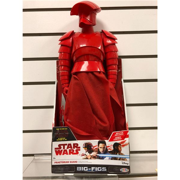 Disney Star Wars The Last Jedi Praetorian Guard 18 action figure (Jakks Pacific new in box)