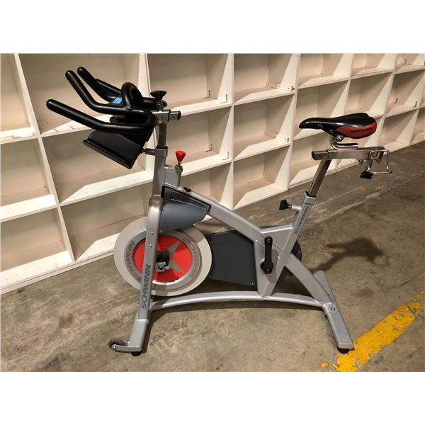 Schwinn Made in Canada spin bike (missing small front wheel & one pedal missing)