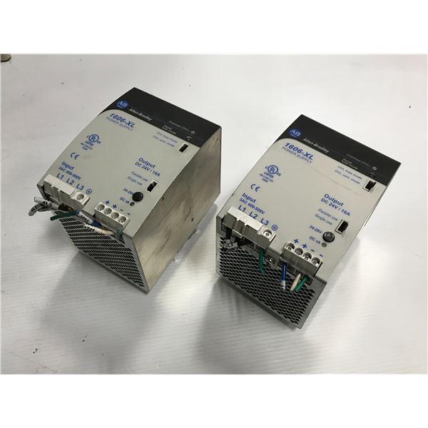 Lot of (2) Allen Bradley #1606-XL240E-3 Power Supply