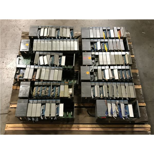 Lot of Allen Bradley Racks and Modules