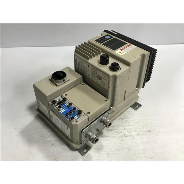 Allen Bradley #284A-FVD2P3Z-10-RR-SB Control Module w/ #280E-FN-10-R Base