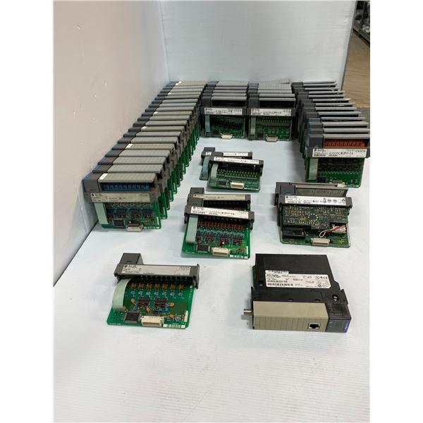 Lot Of Allen Bradley Modules