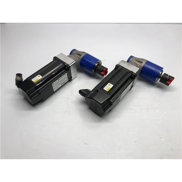 (2) Allen Bradley #VPL-B1002M-PJ14AA Motor w/ LPK 070-M02-10-011 Gearhead