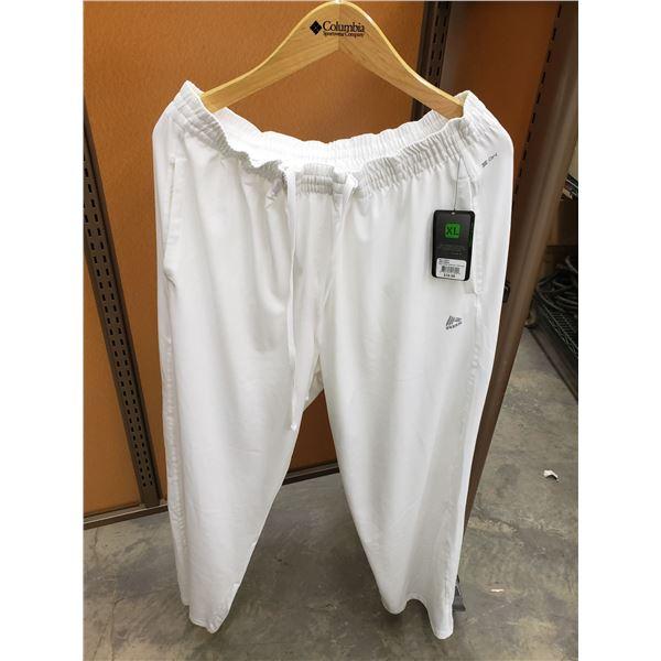 RBX WHITE SWEATPANTS 1 LARGE, 3 XL