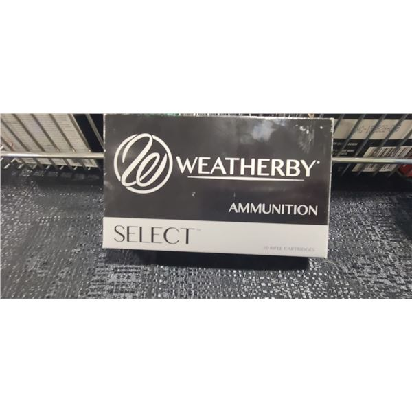 WEATHERBY SELECT .240 WBY MAGNUM 160GR ULTRA HIGH VELOCITY