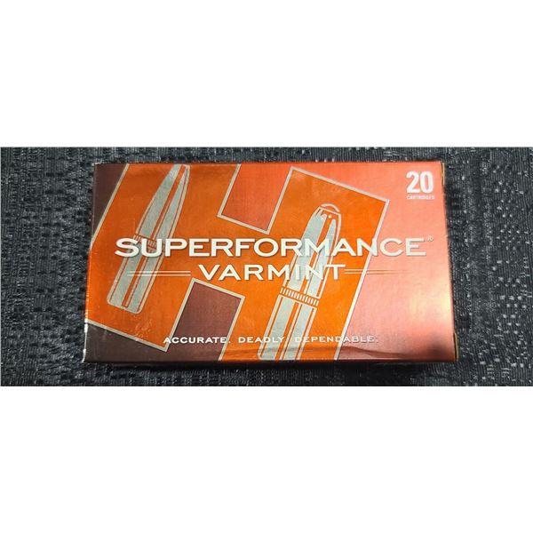 HORNADY SUPER PERFORMANCE .243 WIN,58GRAIN V-MAX
