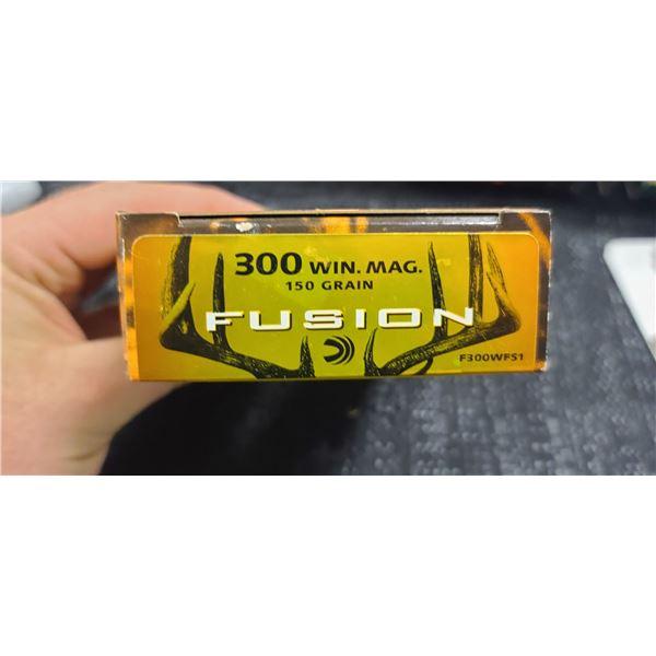 FEDERAL FUSION 300 WIN MAG 150GRAIN