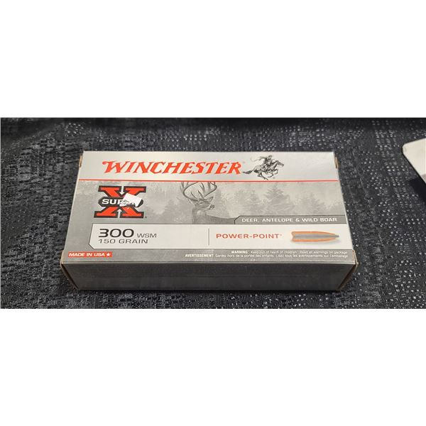WINCHESTER SUPER X 300 WSM 150 GRIAN POWER POINT