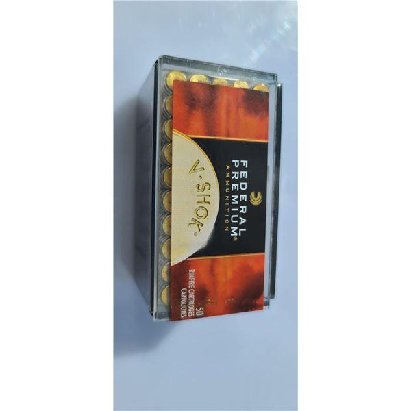.17HMR HORNADY V-MAX 2550 FPS ONE BOX OF 50
