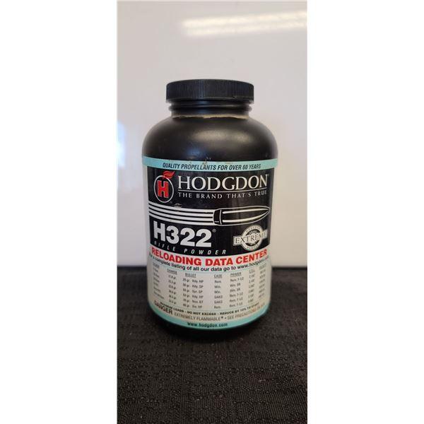 HODGDON H332 RIFLE POWDER 1LBS