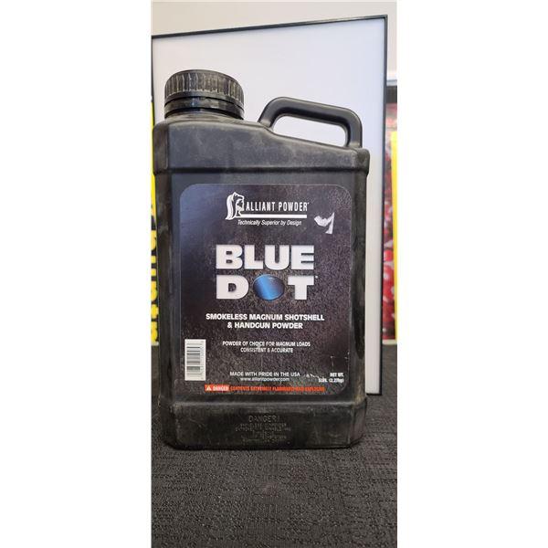 ALLIANT POWDER - BLUE DOT 5LBS SMOKELESS MAGNUM SHORTSHELL AND HANDGUN POWDER