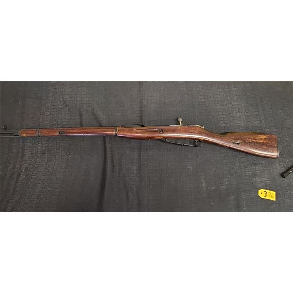 MOSIN-MEGAN'S MODEL 91/30 -7.62 X 54R. RUSSIAN COMES WITH 4 PIECE TOOL KIT. YEAR: 1943