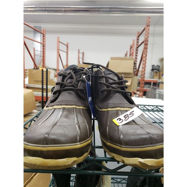 BAFFIN SHORT BROWN RUBBER BOOTS SIZE 14 MENS