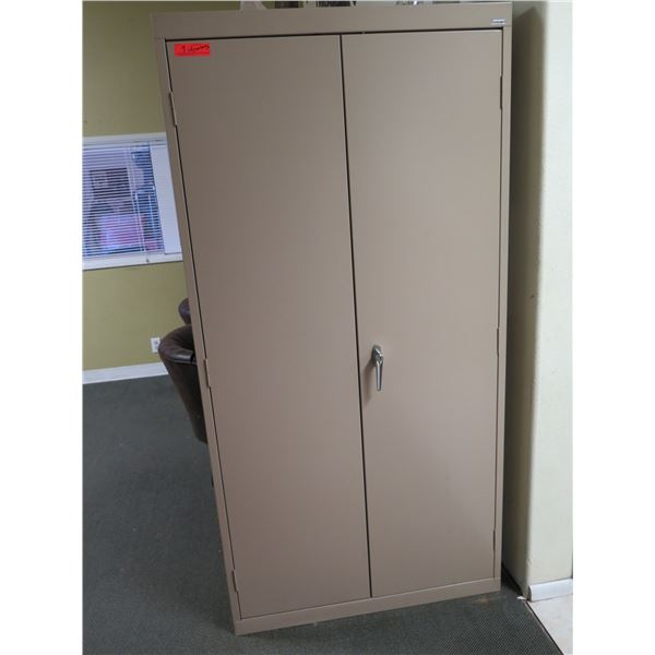 Sandusky Metal Storage Cabinets with Contents