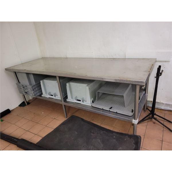 Large Metal Prep Table