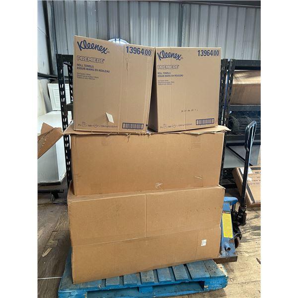 8 Boxes of Kleenex 13964 Towel Rolls