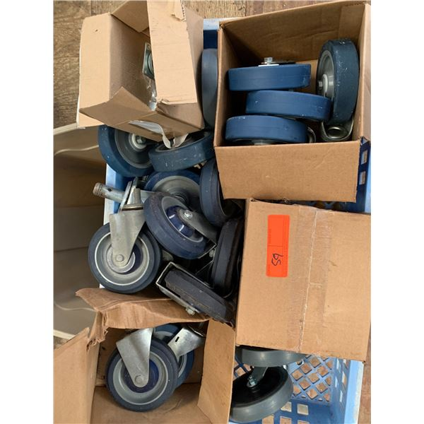 Lot of Misc. Casters (Wheels)