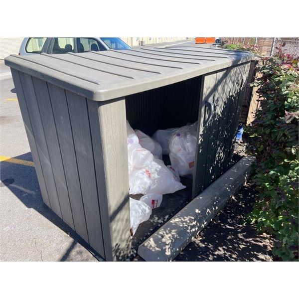 Outdoor Storage Container (missing one door)