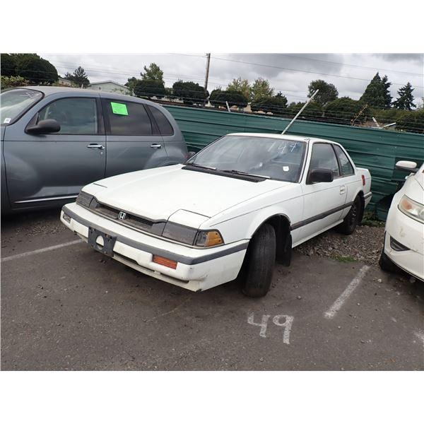 1986 Honda Prelude