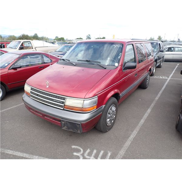 1994 Plymouth Grand Voyager