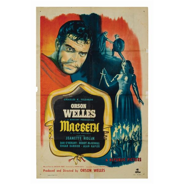 Macbeth 1-Sheet Poster.