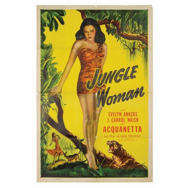 Jungle Woman Reissue 1-Sheet Poster.