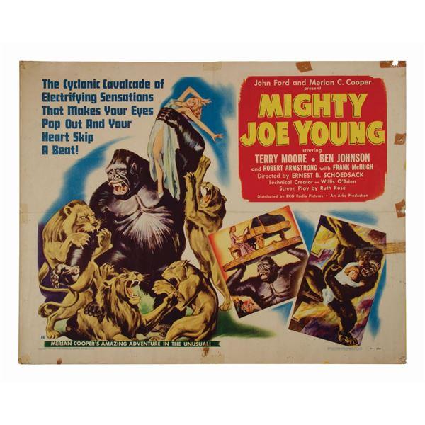 Mighty Joe Young Half-Sheet Poster.