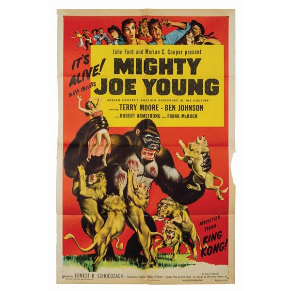 Mighty Joe Young Reissue 1-Sheet Poster.