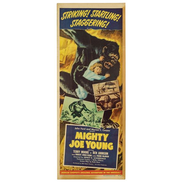 Mighty Joe Young Insert Poster.