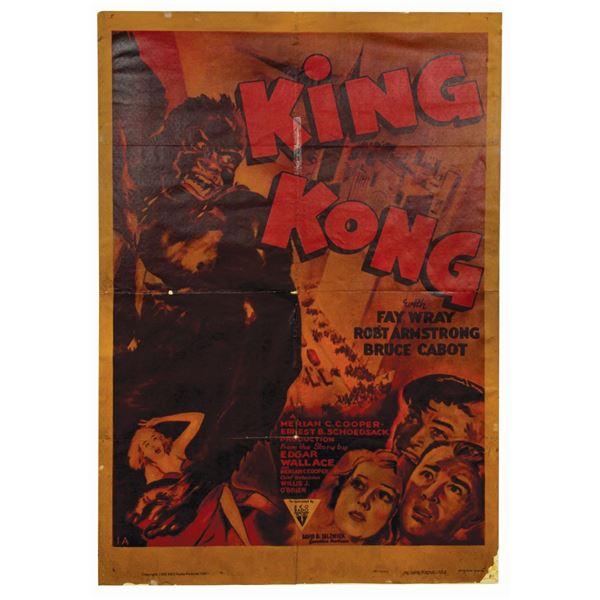 King Kong Reissue 1-Sheet Poster.