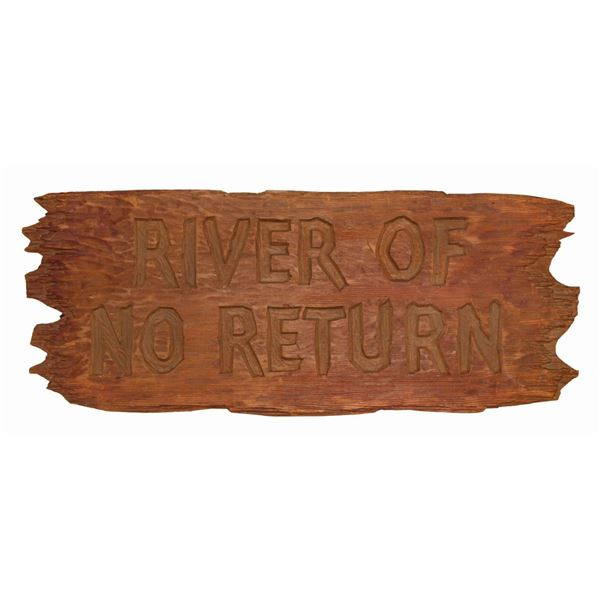 River of No Return Opening Title Board.