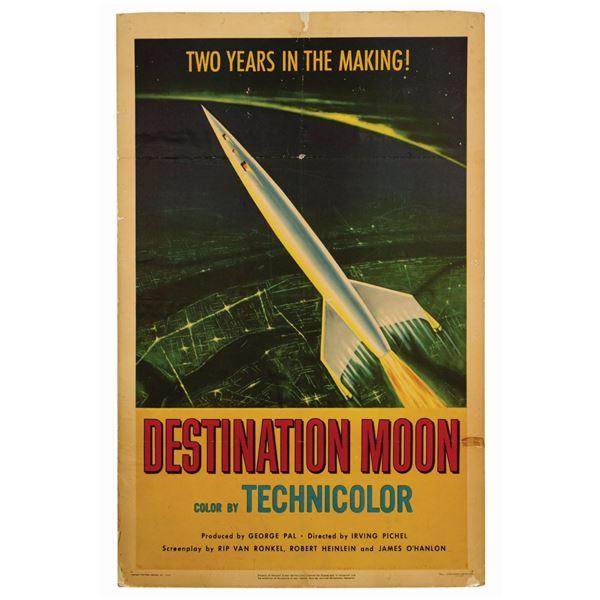 Destination Moon 1-Sheet Poster.