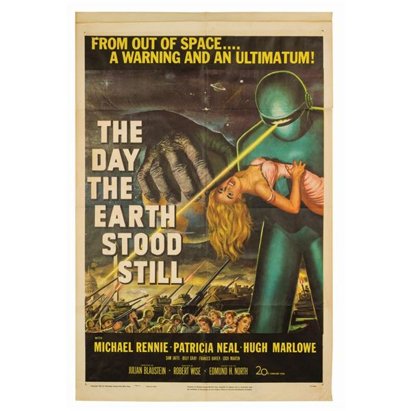 The Day the Earth Stood Still 1-Sheet Poster.