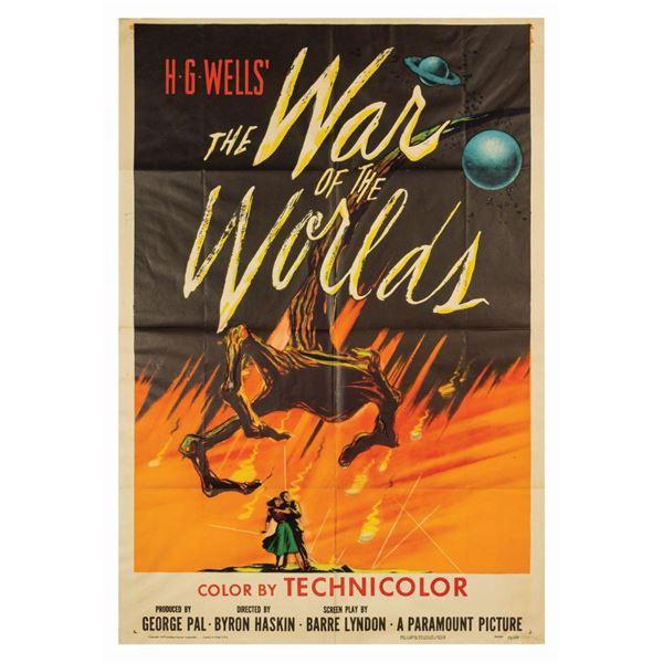 War of the Worlds 1-Sheet Poster.