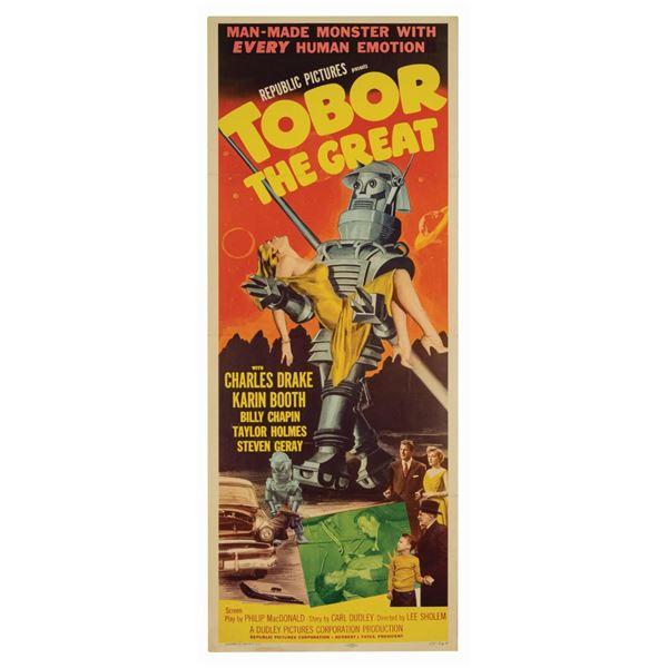 Tobor the Great Insert Poster.
