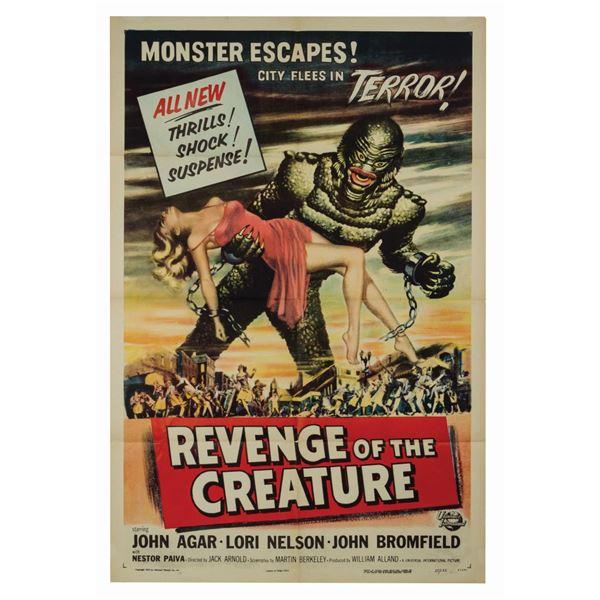 Revenge of the Creature 1-Sheet Poster.