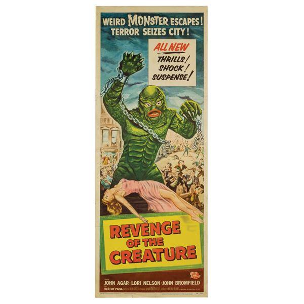 Revenge of the Creature Insert Poster.