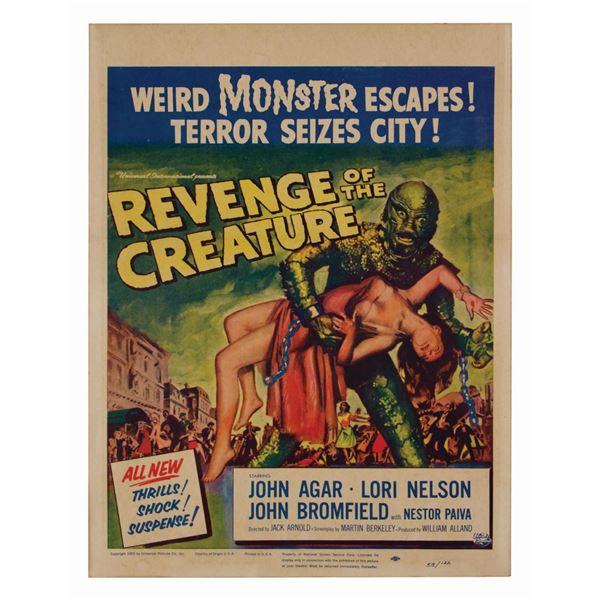 Revenge of the Creature Window Card.