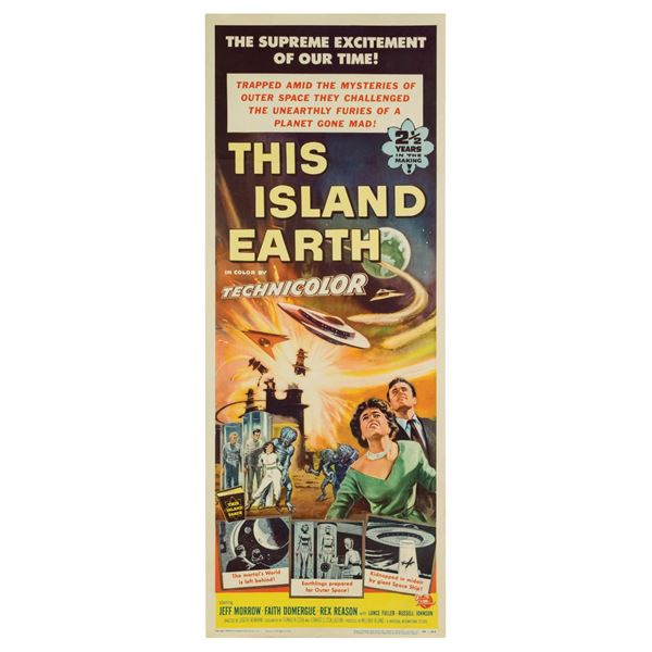 This Island Earth Insert Poster.