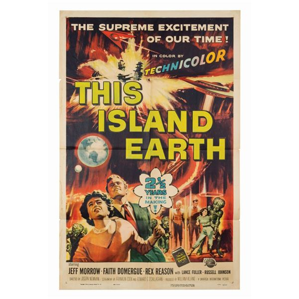 This Island Earth 1-Sheet Poster.
