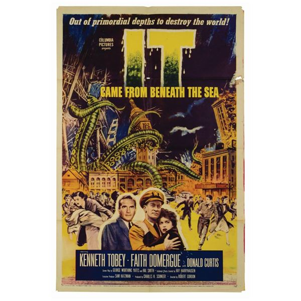 It Came from Beneath the Sea 1-Sheet Poster.