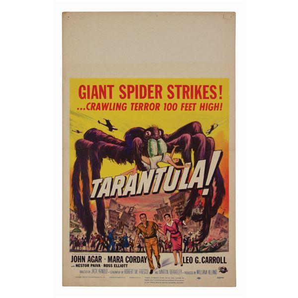 Tarantula! Window Card.