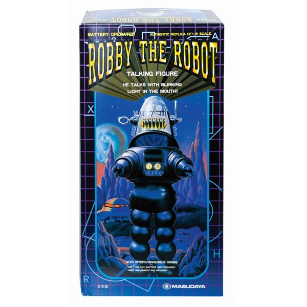 Robby the Robot Talking Figure.