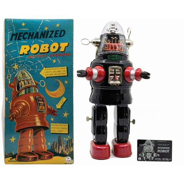 Forbidden Planet Mechanized Robot Toy.