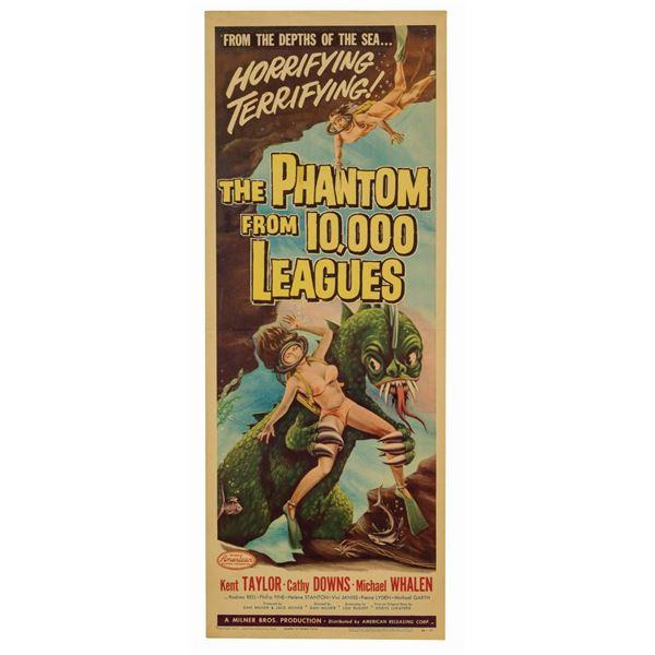 Phantom from 10,000 Leagues Insert Poster.