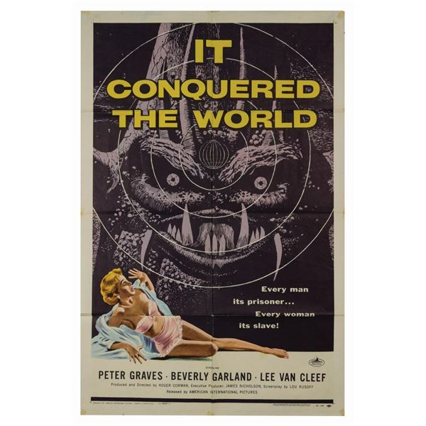 It Conquered the World 1-Sheet Poster.