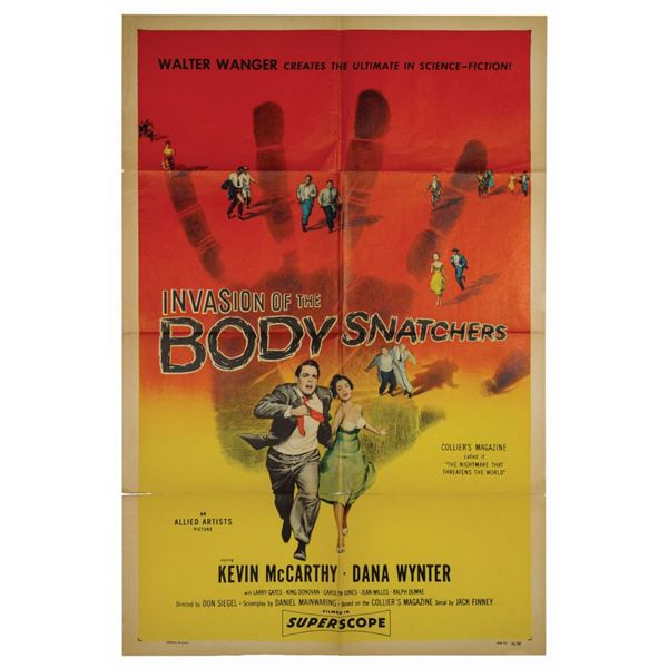 Invasion of the Body Snatchers 1-Sheet Poster.