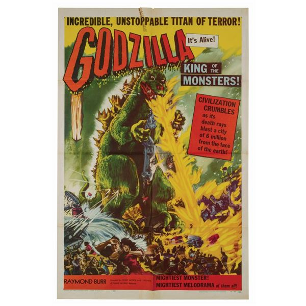 Godzilla, King of the Monsters! 1-Sheet Poster.