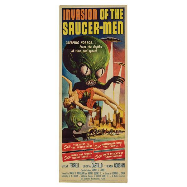 Invasion of the Saucer-Men Insert Poster.